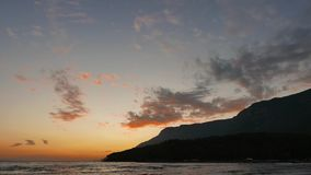 五颜六色的地中海日落在秋天29 影视素材