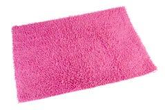 五颜六色的地毯或擦鞋垫清洗的脚 免版税库存照片