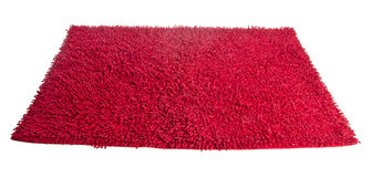 五颜六色的地毯或擦鞋垫清洁英尺 免版税图库摄影