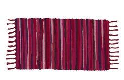五颜六色的地毯或擦鞋垫 库存图片