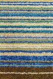 五颜六色的地毯织品纹理 免版税库存照片