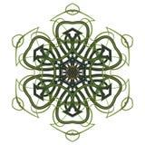 五颜六色的坛场 种族部族装饰品 免版税库存照片