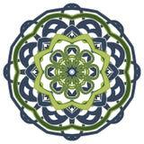 五颜六色的坛场 种族部族装饰品 库存图片