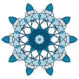 五颜六色的坛场 种族部族装饰品 免版税库存图片