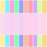五颜六色的垂直和水平的样式背景纹理 库存图片