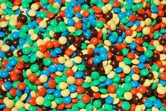 五颜六色的堆甜点 库存图片