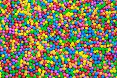 五颜六色的塑料球 图库摄影