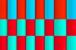 五颜六色的塑料管材样式纹理背景 免版税库存图片