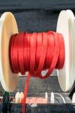五颜六色的塑料绳索 库存图片