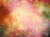 五颜六色的墙壁或织品帆布领带染料纹理,难看的东西背景 库存照片