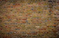 五颜六色的墙壁,砖背景 库存照片