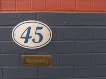 五颜六色的墙壁 免版税图库摄影