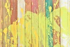 五颜六色的墙壁 库存照片