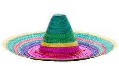 五颜六色的墨西哥阔边帽 库存图片