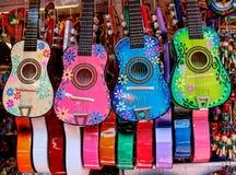 五颜六色的墨西哥仪器 库存图片