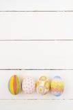 五颜六色的复活节彩蛋 免版税库存照片