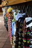 五颜六色的夏威夷列伊分类 免版税库存图片