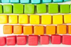 五颜六色的多维数据集 免版税库存照片