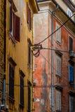 五颜六色的大厦 免版税库存图片
