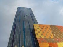 五颜六色的大厦 免版税图库摄影