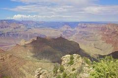 五颜六色的大峡谷 库存图片