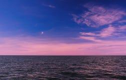 五颜六色的天空 免版税库存照片