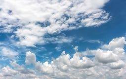 五颜六色的天空 图库摄影