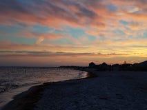 五颜六色的天空 免版税图库摄影