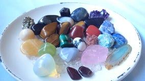 五颜六色的宝石 库存照片