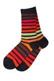五颜六色的对袜子 免版税图库摄影