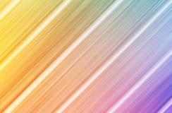 五颜六色的对角线排行介绍背景 免版税库存图片