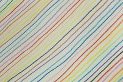 五颜六色的对角线由铅笔颜色做的背景 库存照片
