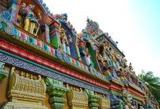 五颜六色的寺庙 图库摄影