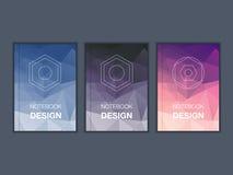 五颜六色的小册子标题板料集合 免版税图库摄影