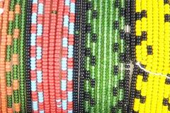 五颜六色的小珠 免版税图库摄影