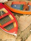 五颜六色的小船 图库摄影