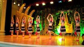 五颜六色的少数民族妇女云南 免版税库存照片