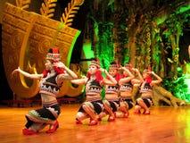 五颜六色的少数民族妇女云南 免版税库存图片
