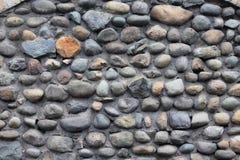 五颜六色的岩石墙壁在昆卡省,厄瓜多尔 免版税库存图片