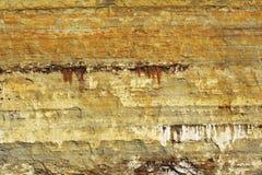 五颜六色的岩石纹理 免版税库存照片