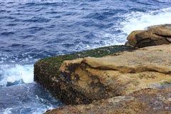 五颜六色的岩石 库存照片