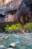 五颜六色的峡谷 免版税库存图片