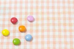 五颜六色的巧克力 库存图片