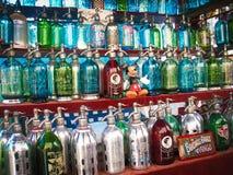 五颜六色的布宜诺斯艾利斯市场摊位 图库摄影