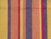 五颜六色的布料纹理 库存图片