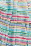 五颜六色的布料 免版税图库摄影