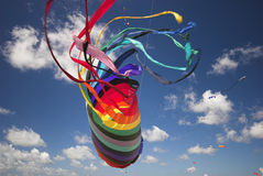 五颜六色的幻想风筝 库存图片