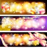 五颜六色的庆祝和销售装饰品横幅bac 图库摄影