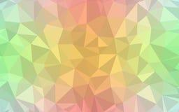 五颜六色的彩虹栅格马赛克背景 库存图片