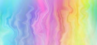 五颜六色的彩虹背景横幅 免版税图库摄影